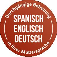 ESCAMINAL – durchgängige Betreuung beim Standortwechsel in Ihrer Muttersprache (Spanisch, Englisch, Deutsch).